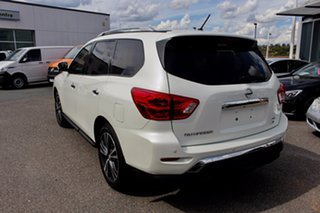 2019 Nissan Pathfinder R52 Series III MY19 Ti X-tronic 4WD White 1 Speed Constant Variable Wagon.