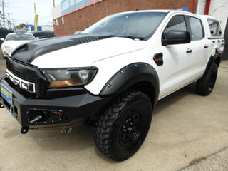 2015 Ford Ranger PX MkII XL Antarctic White 6 Speed Sports Automatic Utility.