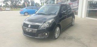 2015 Suzuki Swift FZ MY15 Sport Black 7 Speed Constant Variable Hatchback.