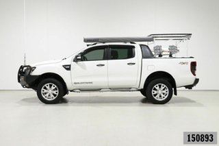 2014 Ford Ranger PX Wildtrak 3.2 (4x4) White 6 Speed Manual Crew Cab Utility