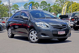 2008 Toyota Yaris NCP93R YRS Grey 5 Speed Manual Sedan.