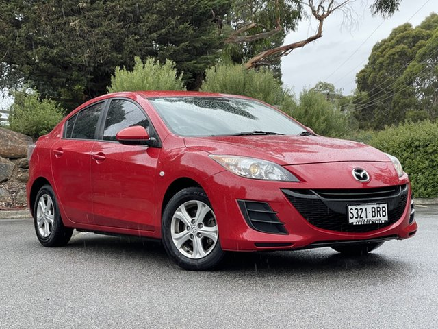Used Mazda 3 BL10F1 Neo Totness, 2009 Mazda 3 BL10F1 Neo Red 6 Speed Manual Sedan