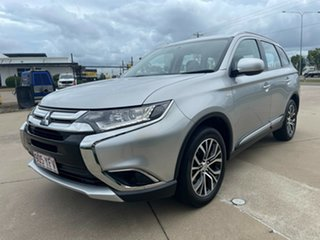 2018 Mitsubishi Outlander ZL MY18.5 ES 2WD Silver 6 Speed Constant Variable Wagon
