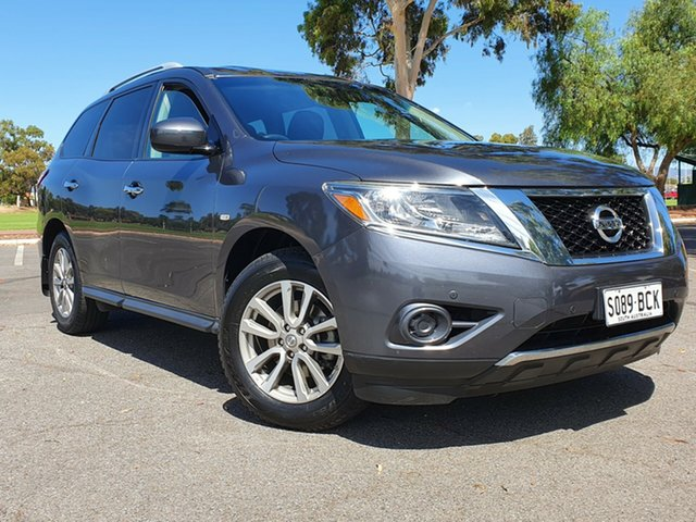 Used Nissan Pathfinder R52 MY14 ST X-tronic 2WD Nailsworth, 2013 Nissan Pathfinder R52 MY14 ST X-tronic 2WD Blue 1 Speed Constant Variable Wagon