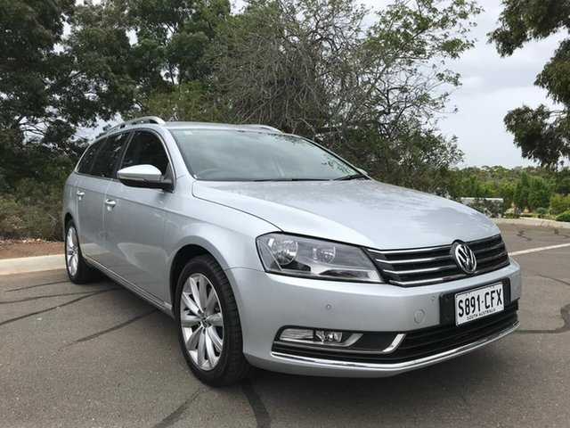 Used Volkswagen Passat Type 3C MY14.5 118TSI DSG Enfield, 2014 Volkswagen Passat Type 3C MY14.5 118TSI DSG Silver 7 Speed Sports Automatic Dual Clutch Wagon