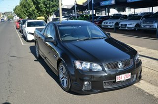 2012 Holden Commodore VE II MY12 SV6 Black 6 Speed Manual Utility.