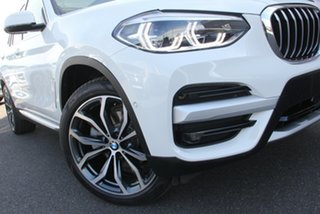 2019 BMW X3 G01 xDrive30i Steptronic White 8 Speed Sports Automatic Wagon.