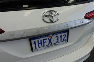 2016 Toyota Fortuner GUN156R GX Glacier White 6 Speed Automatic Wagon