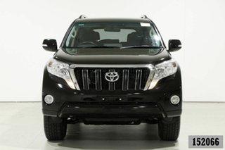 2016 Toyota Landcruiser Prado GDJ150R MY16 GXL (4x4) Black 6 Speed Automatic Wagon.