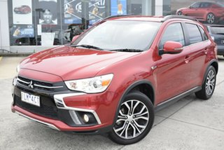 2017 Mitsubishi ASX XC MY17 LS 2WD Red/Black 6 Speed Constant Variable Wagon.