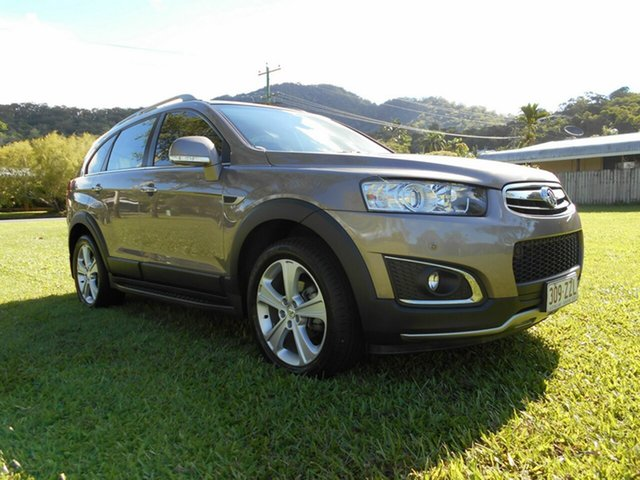 Used Holden Captiva CG MY15 7 LTZ (AWD) Bungalow, 2015 Holden Captiva CG MY15 7 LTZ (AWD) Bronze 6 Speed Automatic Wagon