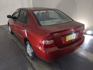2002 Toyota Corolla ZZE122R Ascent Red 4 Speed Automatic Sedan