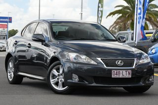 2008 Lexus IS GSE20R IS250 Prestige Grey 6 Speed Sports Automatic Sedan.