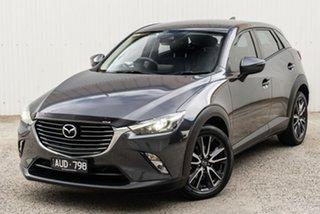 2018 Mazda CX-3 DK4W7A sTouring SKYACTIV-Drive i-ACTIV AWD Grey 6 Speed Sports Automatic Wagon.