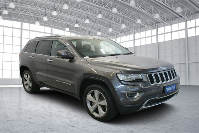 Used Jeep Grand Cherokee WK MY15 Limited Victoria Park, 2014 Jeep Grand Cherokee WK MY15 Limited Granite 8 Speed Sports Automatic Wagon