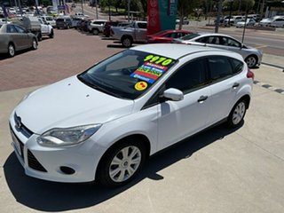 2012 Ford Focus LW Ambiente White 5 Speed Manual Hatchback