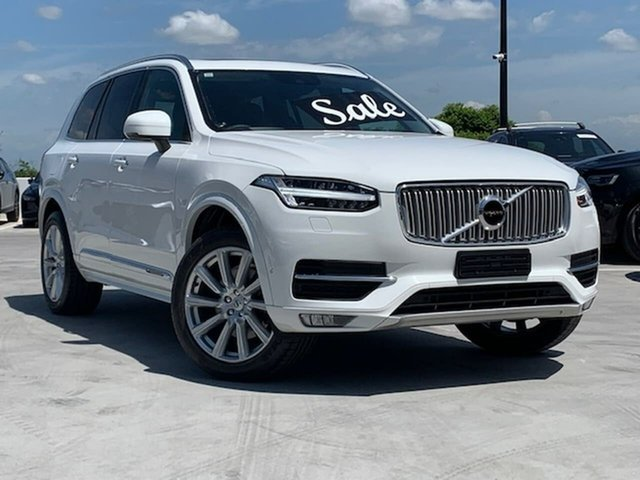 Used Volvo XC90 L Series MY16 D5 Geartronic AWD Inscription Liverpool, 2015 Volvo XC90 L Series MY16 D5 Geartronic AWD Inscription White 8 Speed Sports Automatic Wagon