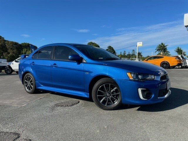 Used Mitsubishi Lancer CF MY17 ES Sport Gympie, 2016 Mitsubishi Lancer CF MY17 ES Sport Blue 6 Speed Constant Variable Sedan