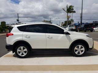 2013 Toyota RAV4 ZSA42R MY14 GXL 2WD Crystal Pearl 6 Speed Manual Wagon.