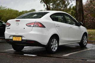 2010 Mazda 2 DE10Y1 MY10 Maxx White 4 Speed Automatic Sedan