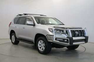 2018 Toyota Landcruiser Prado GDJ150R GXL Silver 6 Speed Sports Automatic Wagon