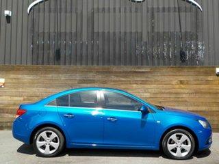 2011 Holden Cruze JG CDX Blue 6 Speed Sports Automatic Sedan.