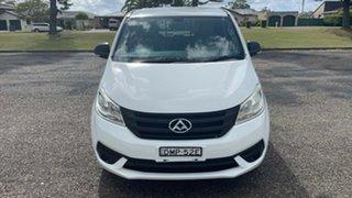 2017 LDV G10 SV7C White 5 Speed Manual Van.