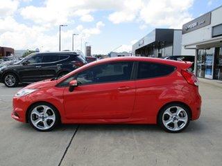 2013 Ford Fiesta WZ ST Orange 6 Speed Manual Hatchback.