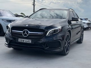 2015 Mercedes-Benz GLA-Class X156 806MY GLA45 AMG SPEEDSHIFT DCT 4MATIC Black 7 Speed