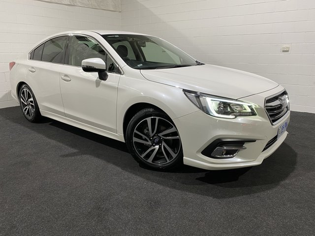 Used Subaru Liberty B6 MY19 2.5i CVT AWD Glenorchy, 2019 Subaru Liberty B6 MY19 2.5i CVT AWD White 6 Speed Constant Variable Sedan