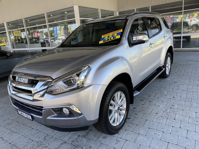 Used Isuzu MU-X UC MY17 LS-T (4x4) Taree, 2018 Isuzu MU-X UC MY17 LS-T Silver 6 Speed Sports Automatic Wagon