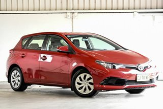 2016 Toyota Corolla ZRE182R Ascent S-CVT Wildfire 7 Speed Constant Variable Hatchback.