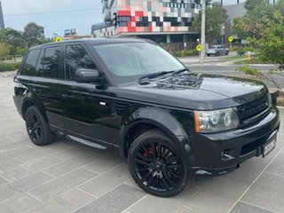 2010 Land Rover Range Rover Sport L320 11MY TDV6 Black 6 Speed Sports Automatic Wagon.