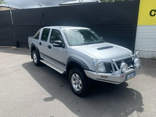 2008 Holden Rodeo RA MY08 LX Crew Cab 60th Anniversary Silver 5 Speed Manual Utility.