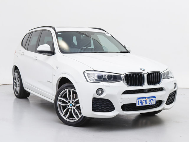 Used BMW X3 F25 MY17 xDrive20d, 2017 BMW X3 F25 MY17 xDrive20d White 8 Speed Automatic Wagon