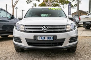 2013 Volkswagen Tiguan 5N MY14 118TSI DSG 2WD Candy White 6 Speed Sports Automatic Dual Clutch Wagon