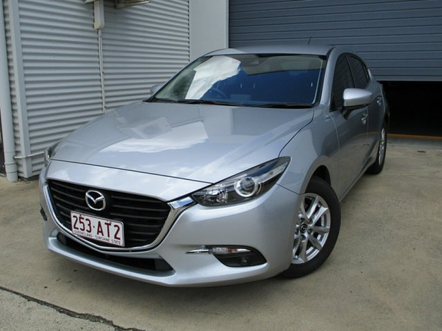Used Mazda 3 BN5478 Maxx SKYACTIV-Drive Caboolture, 2016 Mazda 3 BN5478 Maxx SKYACTIV-Drive Silver 6 Speed Sports Automatic Hatchback