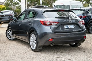 2014 Mazda 3 BM5436 SP25 SKYACTIV-MT Meteor Grey 6 Speed Manual Hatchback.