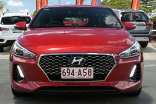 2017 Hyundai i30 GD5 Series II MY17 SR Red 6 Speed Sports Automatic Hatchback