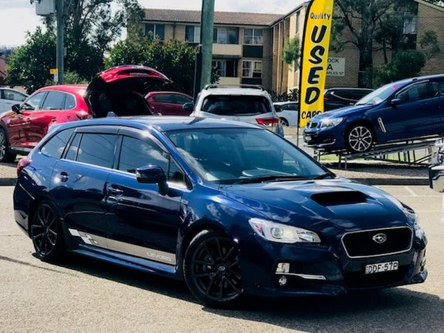 Used Subaru Levorg V1 MY17 2.0 GT CVT AWD Liverpool, 2016 Subaru Levorg V1 MY17 2.0 GT CVT AWD Blue 8 Speed Constant Variable Wagon