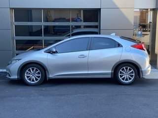 2013 Honda Civic 9th Gen MY13 VTi-S Silver 5 Speed Sports Automatic Hatchback.