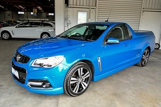 2015 Holden Ute VF MY15 SV6 Ute Storm Blue 6 Speed Sports Automatic Utility