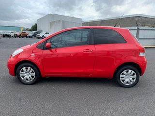 2008 Toyota Yaris NCP90R MY09 YR Red 4 Speed Automatic Hatchback