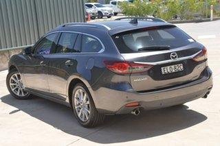 2016 Mazda 6 GL1031 Sport SKYACTIV-Drive Grey 6 Speed Sports Automatic Wagon.