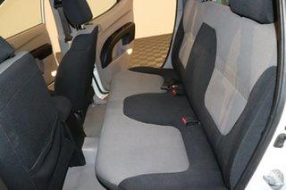 2011 Mitsubishi Triton MN MY11 GLX Double Cab White 5 speed Manual Utility