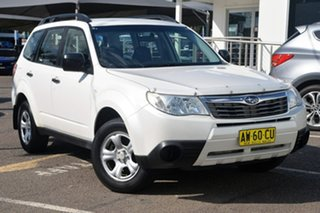 2008 Subaru Forester 79V MY08 X AWD White 4 Speed Automatic Wagon