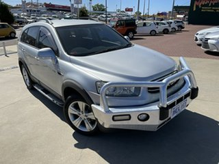 2012 Holden Captiva CG Series II 7 AWD CX Silver 6 Speed Sports Automatic Wagon.