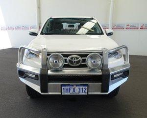 2016 Toyota Fortuner GUN156R GX Glacier White 6 Speed Automatic Wagon.