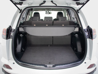 2017 Toyota RAV4 ZSA42R MY17 GXL (2WD) White Continuous Variable Wagon