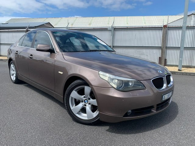 Used BMW 5 Series E60 525i Steptronic Moonah, 2004 BMW 5 Series E60 525i Steptronic Grey 6 Speed Sports Automatic Sedan